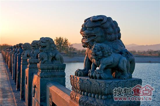 """民间有句歇后语说:""""卢沟桥的石狮子——数不清""""图片"""