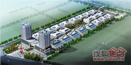 瑞鑫国际商贸城由国内贸易设计研究院设计,其中仓储物流园不同于兰州