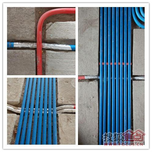 英泰装饰 蓝海工艺 水电阶段展示高清图片