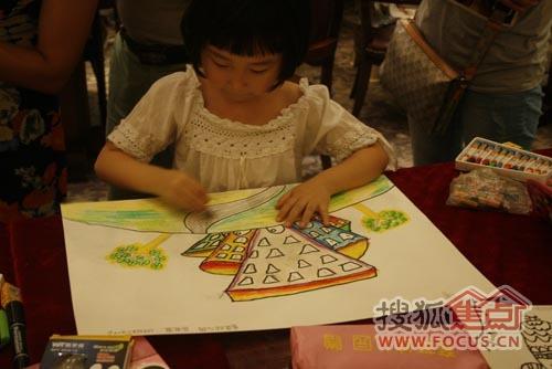 【海亮御府】少儿绘画大赛7月13日快乐童行图片