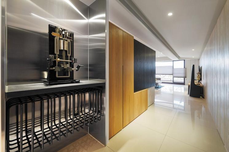 90平公寓設計 混搭時尚的輕工業風格超有型