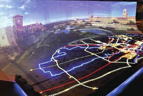 秦汉新城数字化规划展览馆正式启用