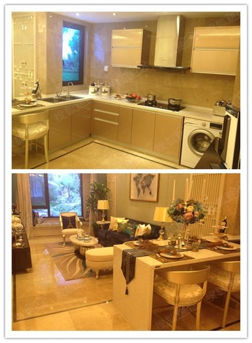 厨房餐厅一体,精装标准较高图片
