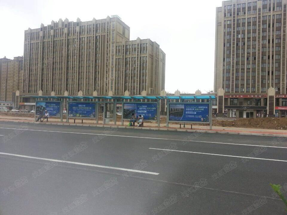 龙湖滟澜海岸公交站点竣工-龙湖滟澜海岸云墅-青岛