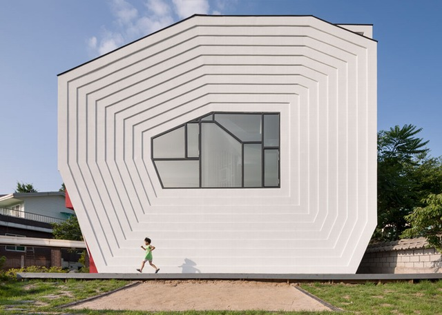韩国建筑工作室Moon Hoon设计作品:柯南住宅