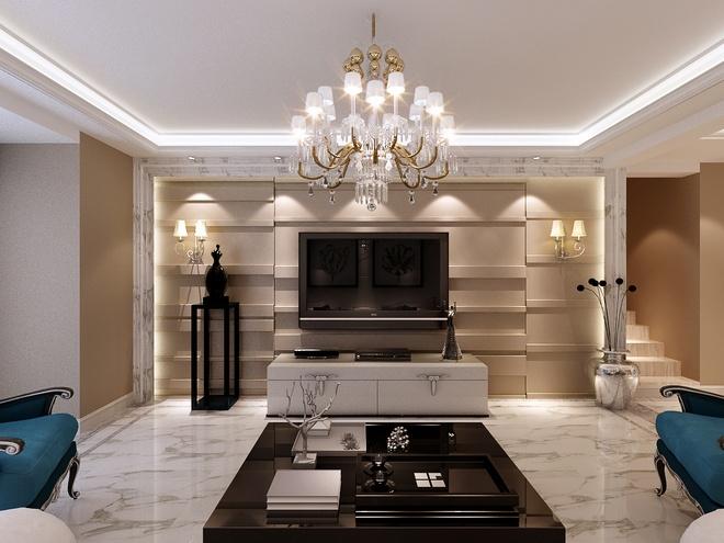 新奢华白色浪漫主义 欧式古典风格设计