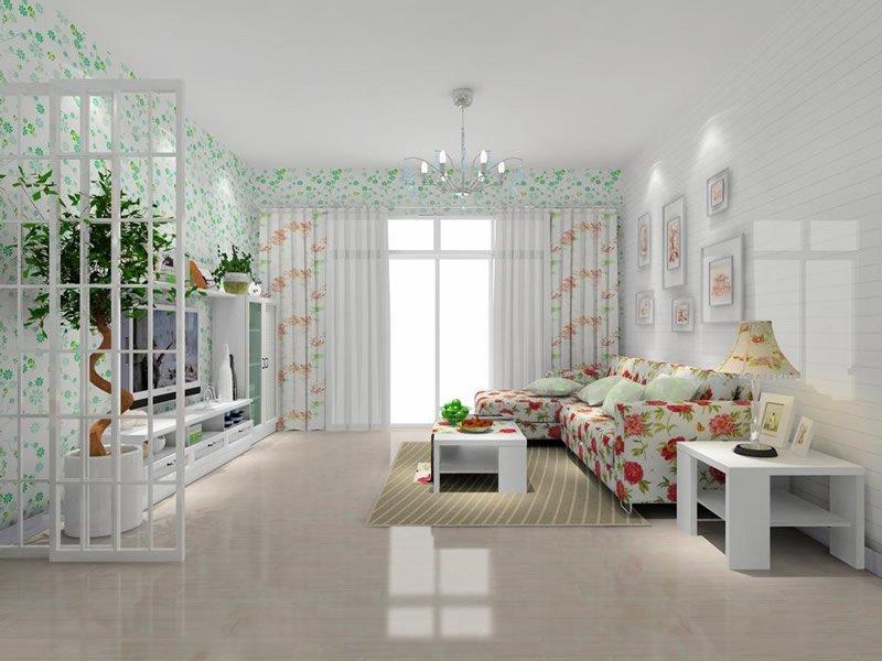 韩式风格客厅装修效果图