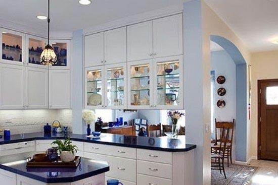 开放式厨房隔断效果图大全高清图片