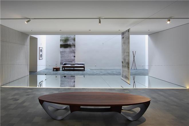 设计与茶室永中轩小区/半木设计(吕紫云)思维双楼梯设计图图片