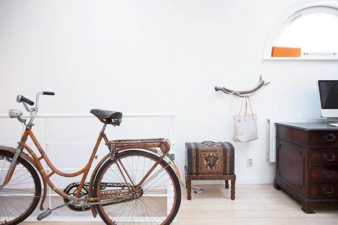 80平方米的怀旧复古风公寓家居设计-组图展示