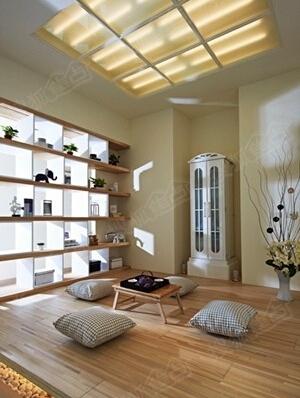 越大坪数的房子在空间配置上越要妥善规画,以免流于空洞,本案北欧风图片