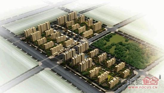 """位于连云港市新浦区""""凤凰新城""""规划区域内,是凤凰新城的启动项目."""