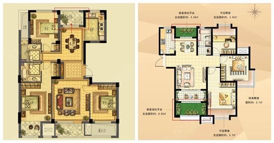 第一:将阳台(包括设备平台,入户花园等)改为室内