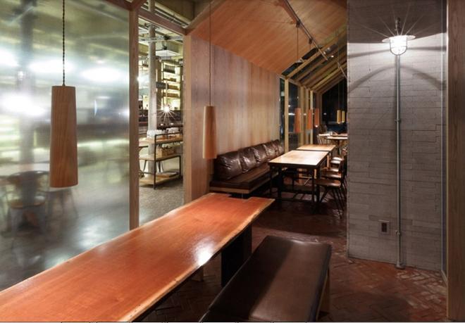 光州nangman loft风格咖啡厅设计