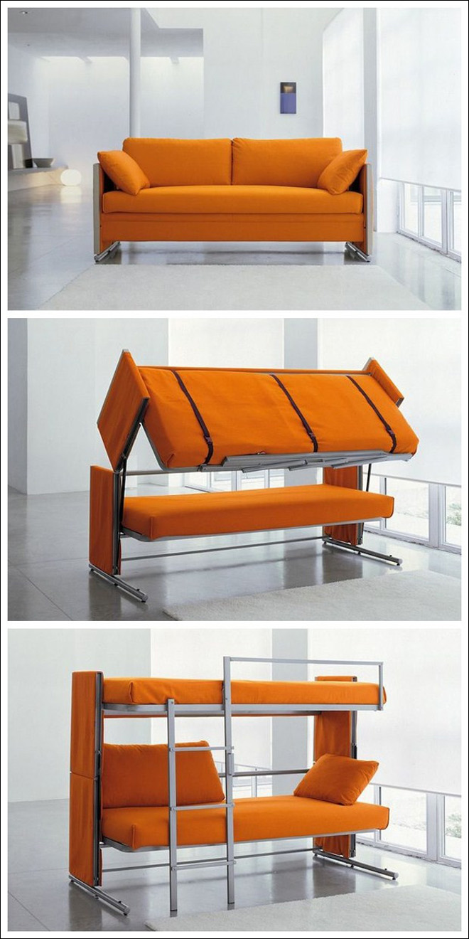 资讯平�_图片资讯:40-60平小户型必备创意折叠家具