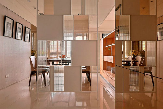 入门屏风更加活泼的生活逸趣.   part2:餐厅设计   装修tips:高清图片