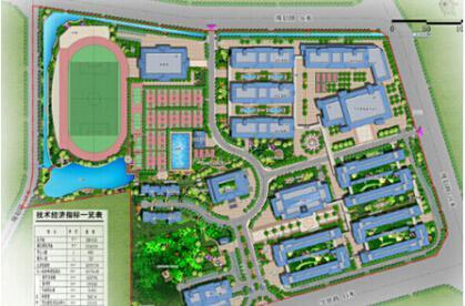 碧桂园职业学院规划图