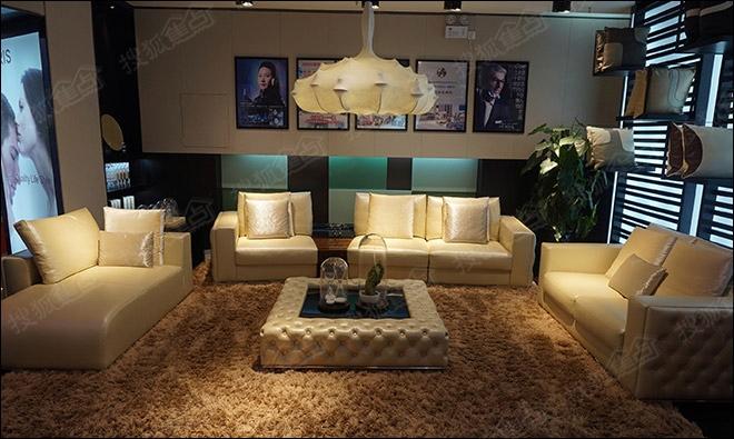 造型精美有品位 爱依瑞斯p a232真皮沙发评测高清图片