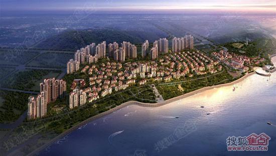 未来规划:双鱼岛规划分为:内湾艺术文化区,主题度假游乐区,滨海