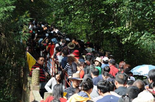 预计国庆内地十大最拥挤景区 深圳人去哪儿图片