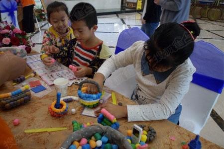 儿童手工制作沙盘