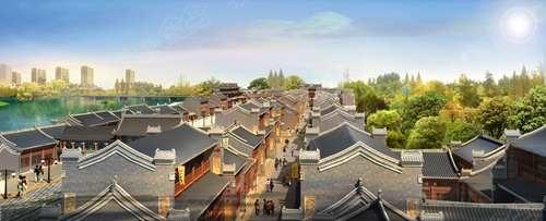 渭南老城老街文化项目