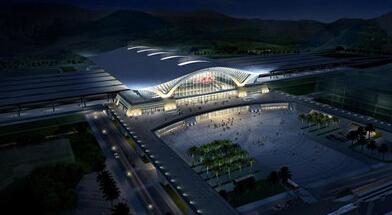 厦门火车站效果图曝光 改扩建工程分两步