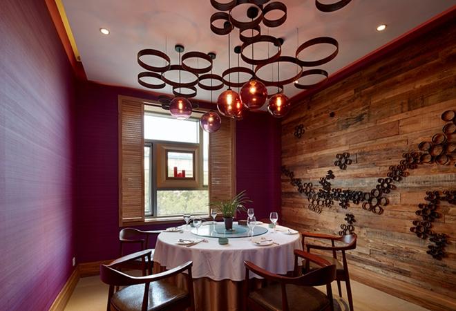 藏素风格餐厅_地中海风格餐厅_中式风格餐厅效果图