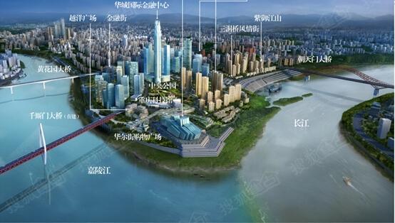 寰宇天下百万商铺即将发售 成就江北嘴顶级商业街