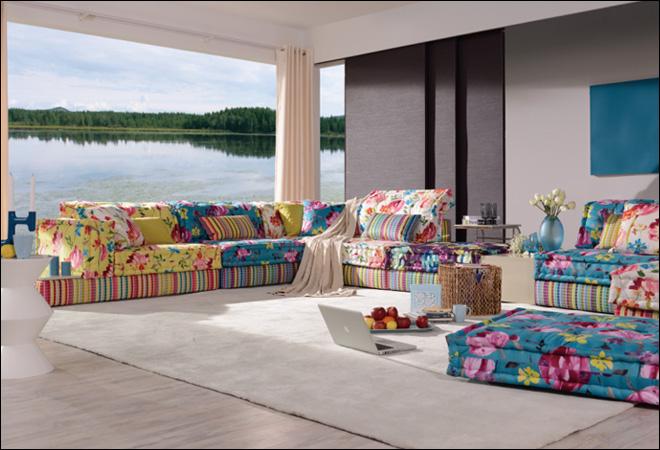 爱依瑞斯拉齐奥5代沙发 高清图片