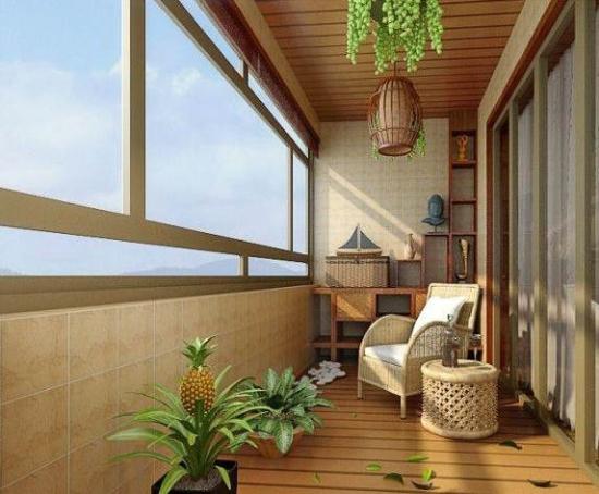 阳台这样装修才有范 46款阳台设计享受一米阳光图片