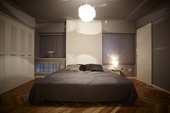 日式风格装修,日式风格案例,榻榻米设计,榻榻米案例,卧室设计