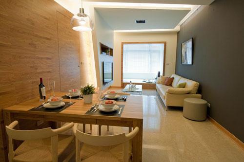 北欧风格装修,北欧风格,小户型设计,小户型装修,小户型案例,客厅设计