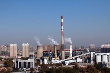 石家庄热电公司燃气热电联产项目在建记