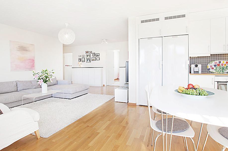 6万搞定90平米三居室 简约装修自然之美 组图高清图片