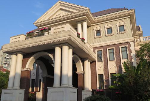 图片别墅20幢独栋法式珍品小区组成的市区别墅社区是由.郑州市风格别墅图片