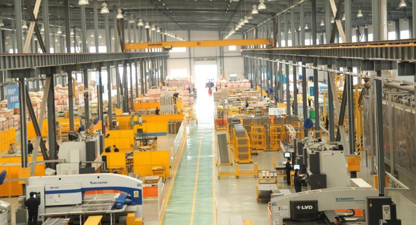 速捷天津工厂:宏大的电梯科技领地