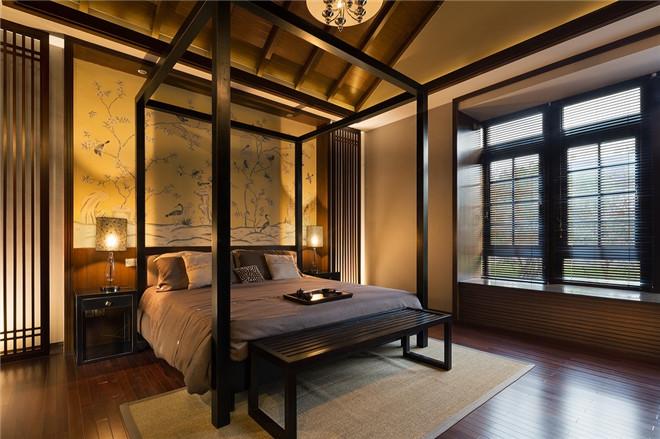吴军宏设计作品:中星红庐中式别墅样板房