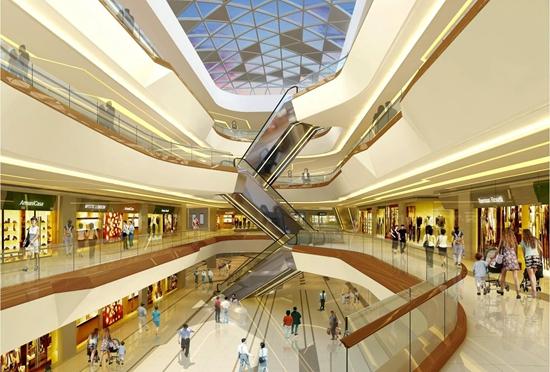 信基广场shopping mall效果图