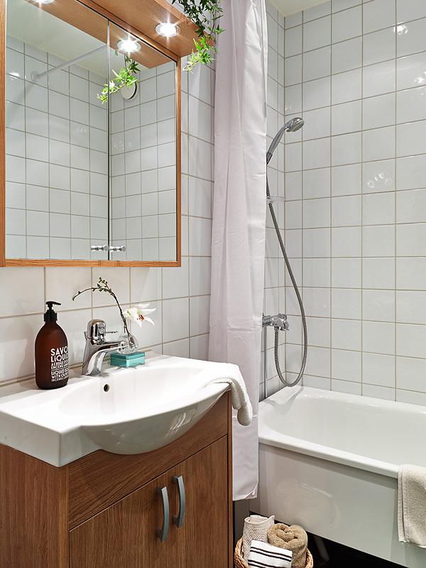 小清新治愈系北欧风温馨小户型家装案例效果图 高清图片