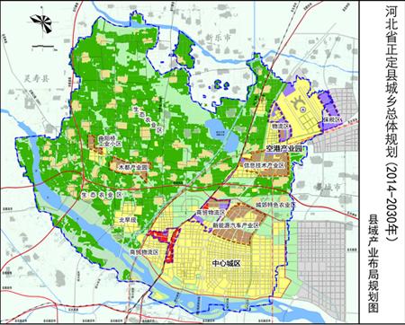 石家庄正定16年大规划 打造省会都市区副中心