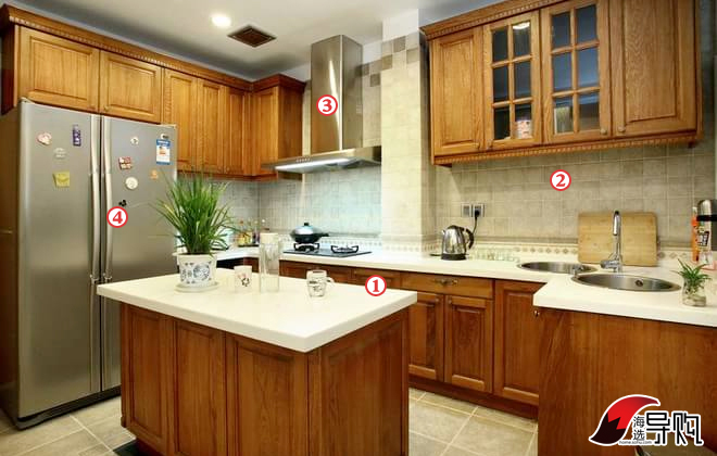 4万打造10㎡新中式风格厨房    皮阿诺定制橱柜格林乡村   参考价格