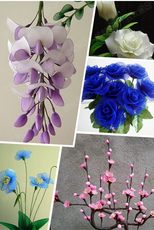 丝网花玫瑰花的制作_丝袜花玫瑰花制作方法_玫瑰花冠_玫瑰花田-圈子花园图片