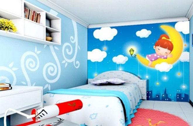 儿童房手绘墙注意事项
