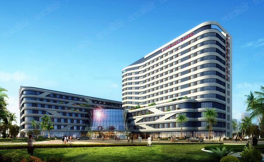 哈尔滨医科大学鸿森医院效果图-哈医大进驻三亚 最大牌配套惊现凤凰