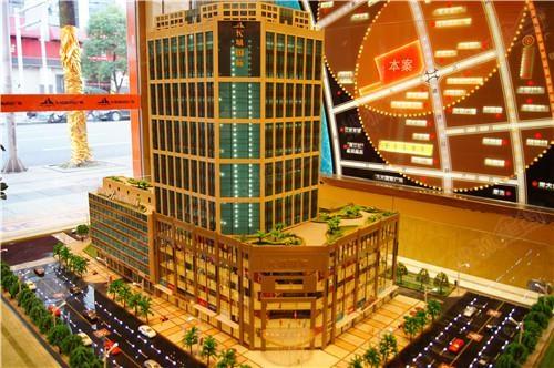 长城国际项目沙盘