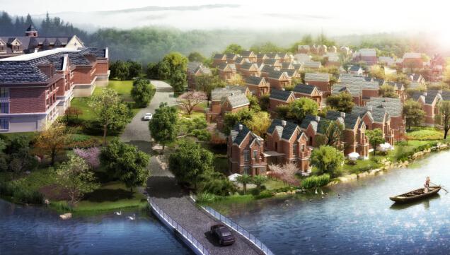【雨润·金桂园】   雨润金桂园是黄山首创的英伦风情迷你小别墅