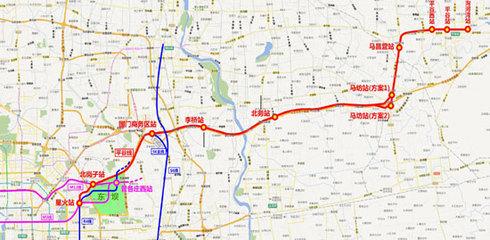 地铁平谷线有望对接天津图片