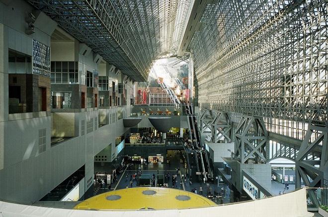 【设计旅行】赵虹:京都火车站与奇奇怪怪的建筑