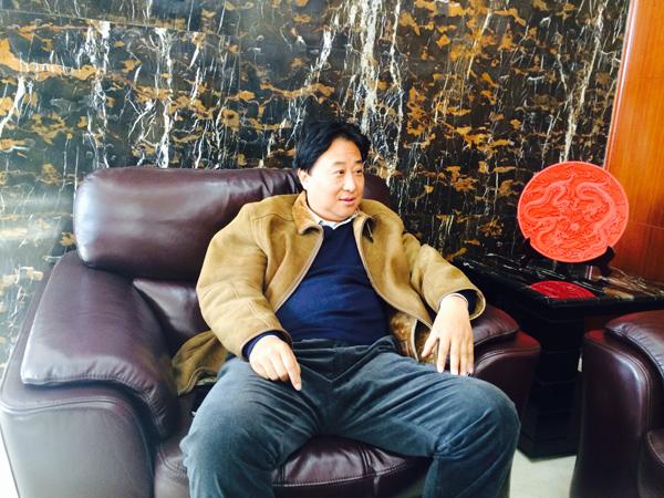 美巢董事长张经甫接受搜狐焦点家居专访
